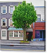Rue Franklin Canvas Print