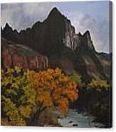 Rugged Peaks Canvas Print