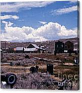 Ruins Of Bodie Canvas Print