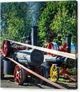 Rumley Powers The Saw Canvas Print