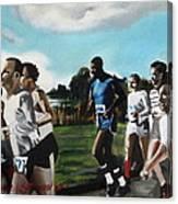 Runnin' Canvas Print
