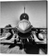 Runway Speed Canvas Print