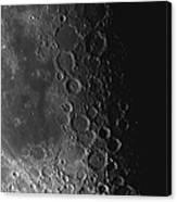 Rupes Recta Ridge And Craters Pitatus Canvas Print