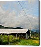 Rural Highways And Biways Canvas Print