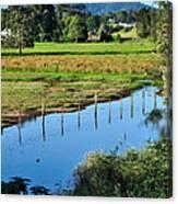 Rural Landscape After Rain Canvas Print