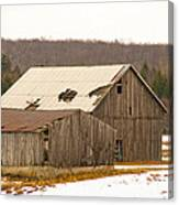 Rural Ontario Farm Canvas Print