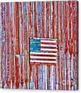 Rural Patriot Canvas Print