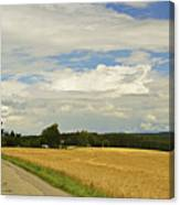 Rural Scene, Near Villingen-schwenningen Canvas Print