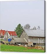 Rural Vermont Farm Scene Canvas Print