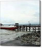 Rural Wharf Canvas Print