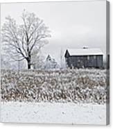 Rural Winter Canvas Print