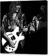 Rocking Out In Spokane 1977 B Canvas Print