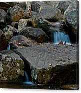 Rushing Water 1 Canvas Print