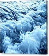 Ice Cold Water Canvas Print