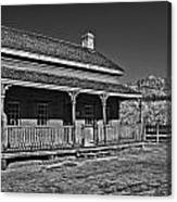 Russell Home - Bw Canvas Print