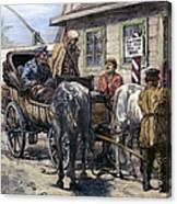 Russia: Siberia, 1882 Canvas Print