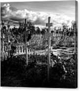 Russian Cemetery Canvas Print