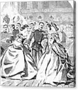 Russian Visit, 1863 Canvas Print