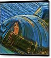 Rusted Submarine Canvas Print