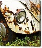 Rusted Volkswagen Canvas Print