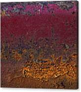 Rusted Wagon Abstract Canvas Print