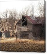 Rustic Old Barn Canvas Print