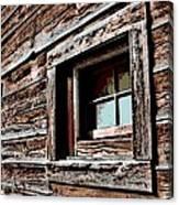 Rustic Portal Canvas Print
