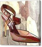 Rustic Saddle Up Canvas Print
