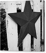 Rustic Star Canvas Print