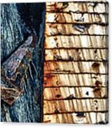 Rusting Boat Anchor Canvas Print