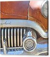 Rusty Abandoned Old Buick Eight Canvas Print