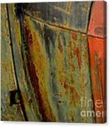 Rusty Abstract Canvas Print