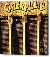 Rusty Caterpillar Canvas Print