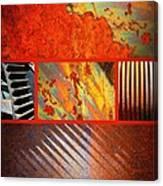 Rusty Metal Canvas Canvas Print