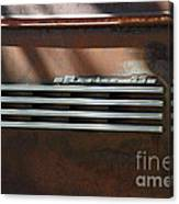 Rusty Old 1939 Chevrolet Master 85 . 5d16198 Canvas Print