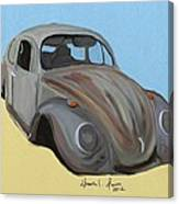 Rusty V.w. Bug Canvas Print