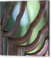 Rusty Windchimes Canvas Print