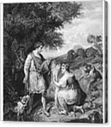 Ruth & Boaz Canvas Print