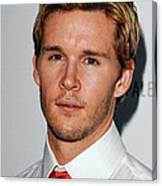 Ryan Kwanten At Arrivals For True Blood Canvas Print