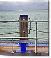 Ryde On The Solent Wharf Canvas Print