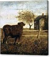 Ryder: The Pasture, C1875 Canvas Print