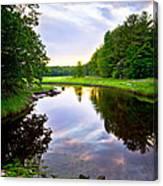 Rye Reflections Canvas Print