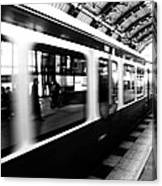 S-bahn Berlin Canvas Print