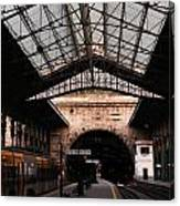 S. Bento Trainstation Canvas Print