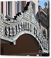 Sabastiani Theatre - Downtown Sonoma California - 5d19288 Canvas Print