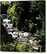 Sable Falls Grand Marais Mi Canvas Print