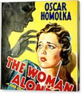 Sabotage, Aka The Woman Alone, Oscar Canvas Print