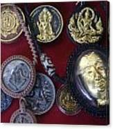 Sacred Amulets Canvas Print