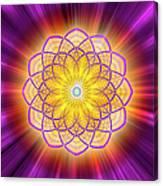 Sacred Geometry 110 Canvas Print