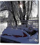 Safe Winter Canvas Print
